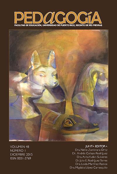 Pedagogía, vol. 48 (2015)