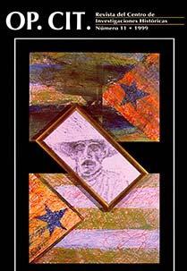 Portada Op. Cit. #11, 1999