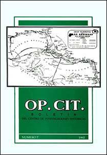 Portada Op. Cit. #7, 1992