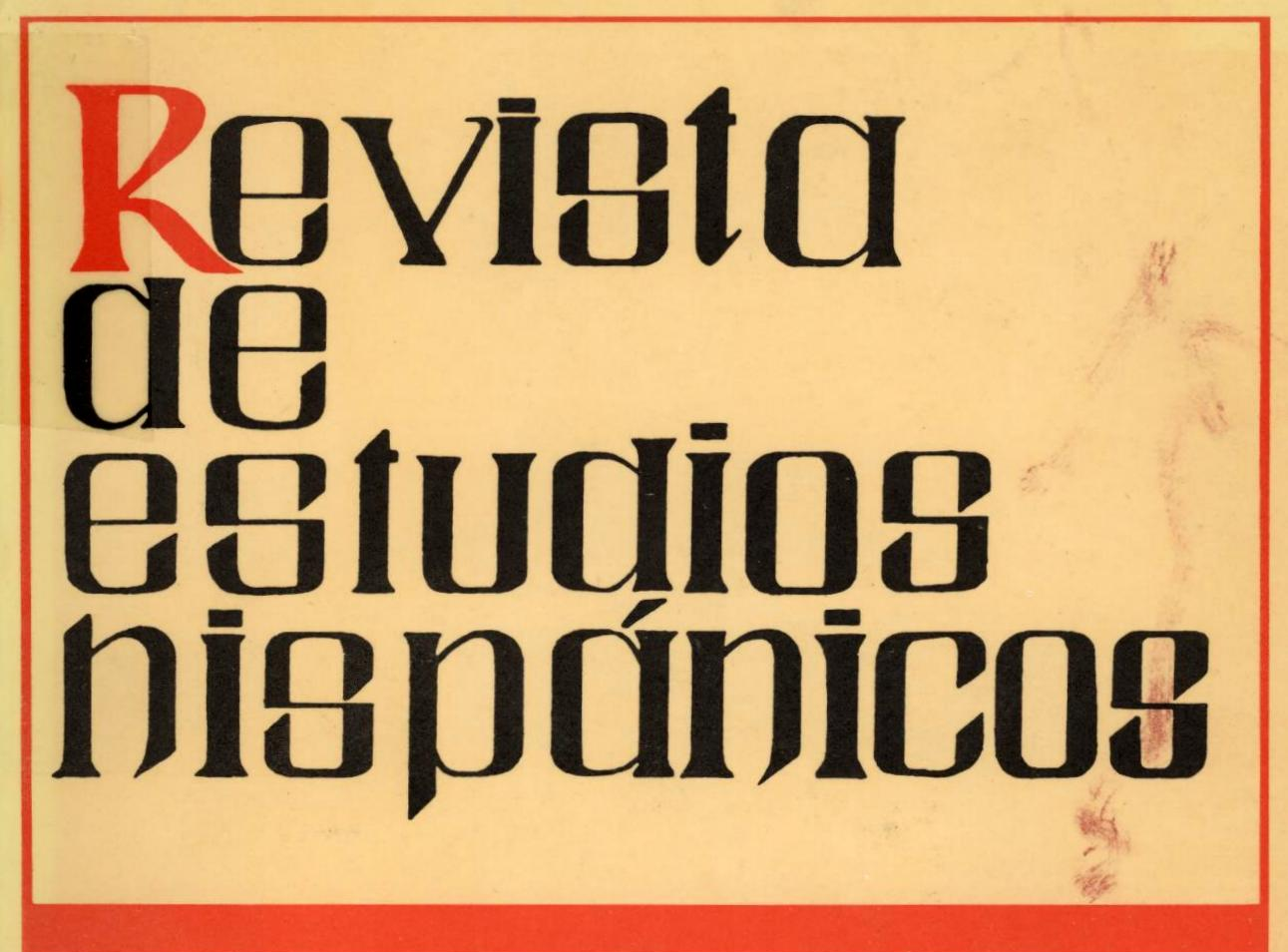 Volumen I, Núm. 1-2, 1971